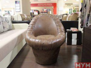 Кресло пуф с ящиком