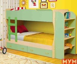 Кровать 2уровневая