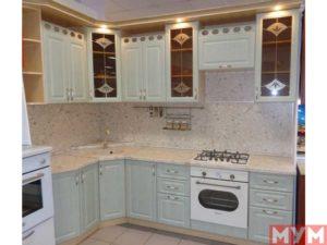Кухонный гарнитур Зеленая Патина