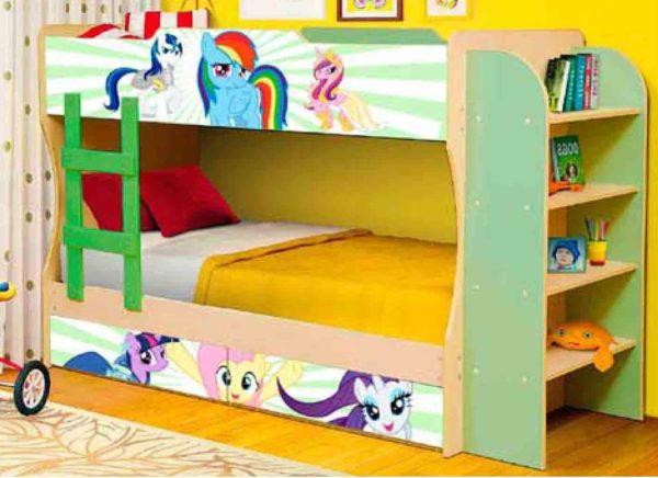 Кровать 2-уровневая