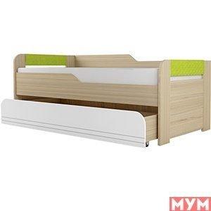 Кровать Стиль 2уровневая Лайм