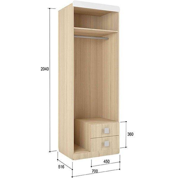 Шкаф Стиль-2 Лайм
