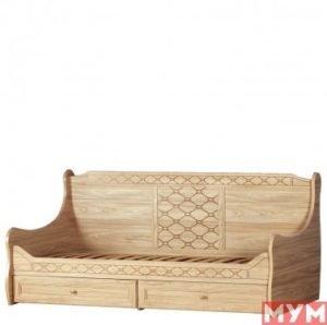 Кровать с ящиками Леон