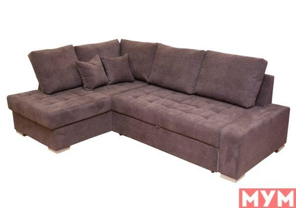 Угловой диван «Неаполь» со спинкой 2