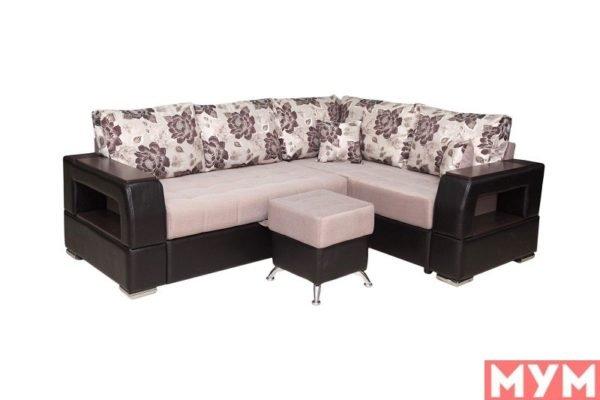 Угловой диван «Неаполь» со спинкой