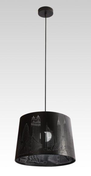 Лампа подвесная 80281 BK  6