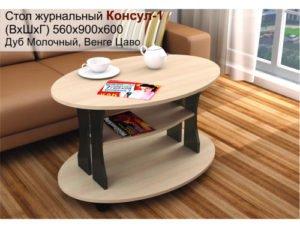 Стол журнальный Консул1