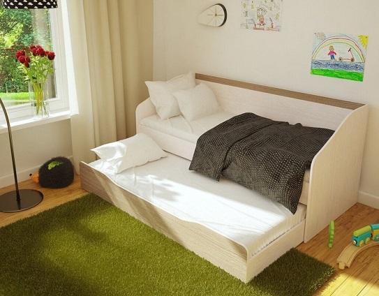 """Детская """"Паскаль"""" кровать с двумя спальными местам"""
